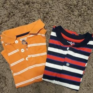 2 - 4T short-sleeve shirts